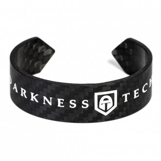 Unisex carbon fibre bracelet in 2/2 3K Twill