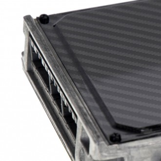 ECU cover suitable for Honda Civic EG in carbon fibre