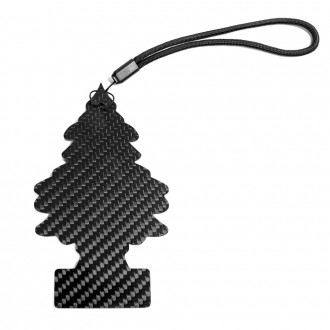 Decorative carbon fibre pine tree